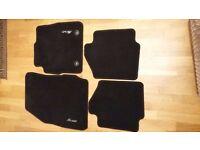 Set of 4 Ford Fiesta Black Car Mats