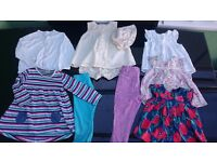 Baby girl / toddler clothing bundle 12-18 months as pictured, very good condition