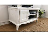 White TV Stand - £10