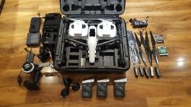 DJI Inspire 1 v2 - X5RAW + Osmo + focus wheel - professional bundle