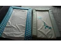 Baby changing mats x 2