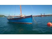 Falmouth working boat,Heard 23 SAPPHIRE ,immaculate example of these very desirable little boats