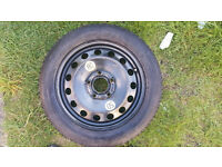 BMW E46 SPARE TYRE, SPACE SAVER 115/90/R16, CONTINENTAL