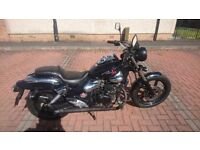 Kymco Zing II Dark Ride 125cc (learner legal) monster of a bike / will deliver if paid in advance