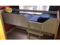 Aspace Mid Sleeper Child's Cabin Bed