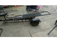 1 man tow towing dolly with ramps handy