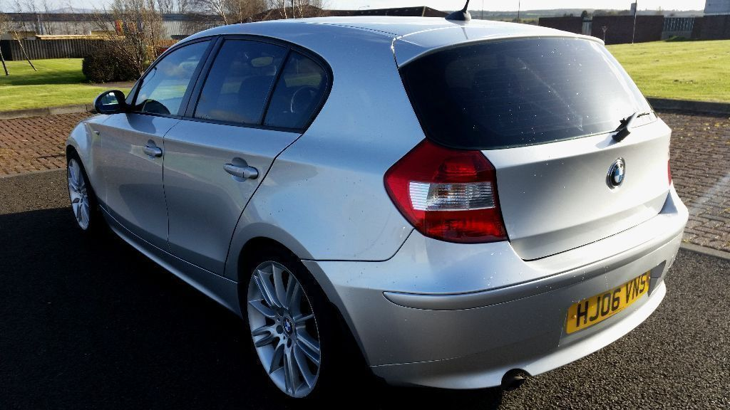 2006 bmw 116i 5 door m sport looks stunning in graphite silver with privacy glass part ex. Black Bedroom Furniture Sets. Home Design Ideas