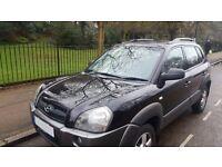 2006 Hyundai Tucson 2.0 ( 4WD )LOW MILEAGE 76,000mi Black Manual 4X4 Debit