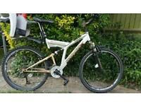 Targa team suspension bike