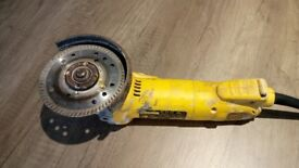 DeWalt angle grinder mains powered second hand
