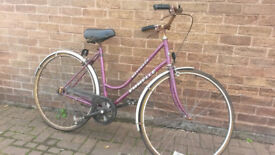 LADIES DUTCH STYLE BIKE LARGE- FOR SPARE-REPAIR £25