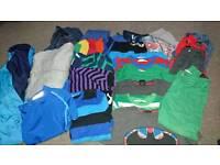 Boys age 4-6 colourful clothes bundle