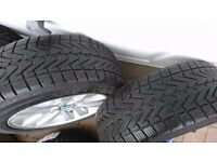 "4 x 16"" BMW genuine alloy wheels with winter tyres, Vredestein 205/55R16 XL 94V"
