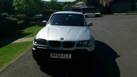2004 54 BMW X3 2.0D SE IN MINT CONDITION INSIDE AND OUTSIDE