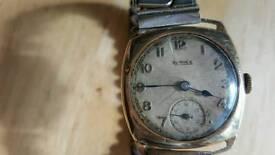 Bernex 9k watch antique
