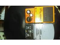 Guitar pedals (delay and distortion)