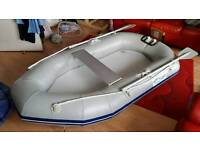 Waveline 2.3m inflatable dinghy Boat Tender with outboard