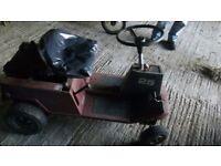 Mountfield 25 7hp motorised cart