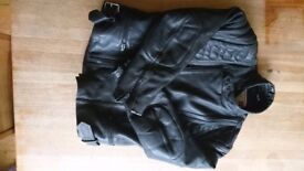 Leather Biker Jacket Weise mens good condition 40/42 size