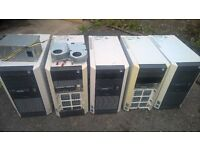 joblot 5x PC towers