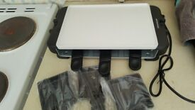Brand new raclette grill