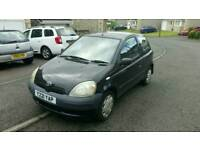 Toyota yaris 3 door hatchback must go £595 ono
