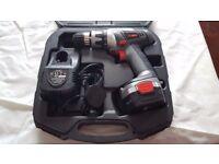 Powerbase Xtreme Cordless Hammer Drill Kit - 14.4V. - Perfect Condition