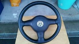 VW 6n2 Polo steering wheel and airbag