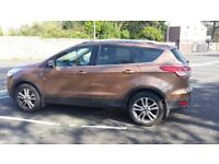 Private ford kuga titanium X 4x4 with low mile and full year mot and car with lots of extras.