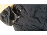 Mens voi jacket black size small