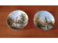Moated Castles of Germany Decorative Plates