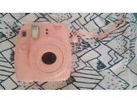 Fujifilm pink instax mini 8