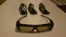 2 pair Samsung 3d Glasses
