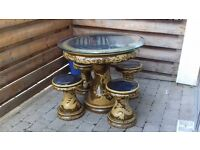 Beautiful Chinese Furniture- Home & Garden Table and Chairs Set