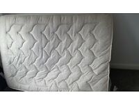 Selling a double mattress do to downsizing the bed for our son in spare room great condition