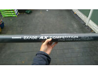 Shimano Exage AX 1450 Pole - 0.5m extension (fits from section 9 onwards)