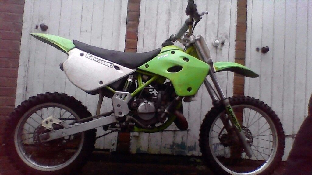 right i have an kx 100cc had an top end rebulid its an pocket rocket call me more info