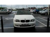 REDUCED Immaculate white BMW series 1 convertible