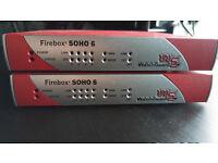2x Firebox SOHO 6 Firewall for sale