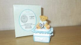 Cherrished Teddies Boy covered box