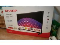 Sharp 48 inch smart tv Brand new in Box HD