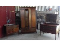 Wardrobe ,dressing table and drawers