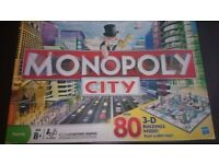Monopoly City with 3D buildings