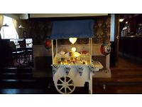 Candy cart for hire £70