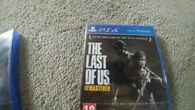 The last of us PS4 NEW SEALED