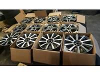 Job Lot Range Rover Mercedes S & Cuba Class Alloy wheels