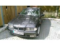 Left Hand Drive BMW 3.16i solid and economical