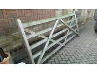Driveway gate / timber gate / field gate