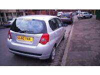 2011 BRILLIANT CHEVROLET AVEO LOW MILEAGE, ONLY 42000 MILES,, FULL YEAR MOT, 5DR HATCHBACK SILVER