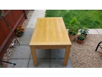 Oak Veneer Dinning Table